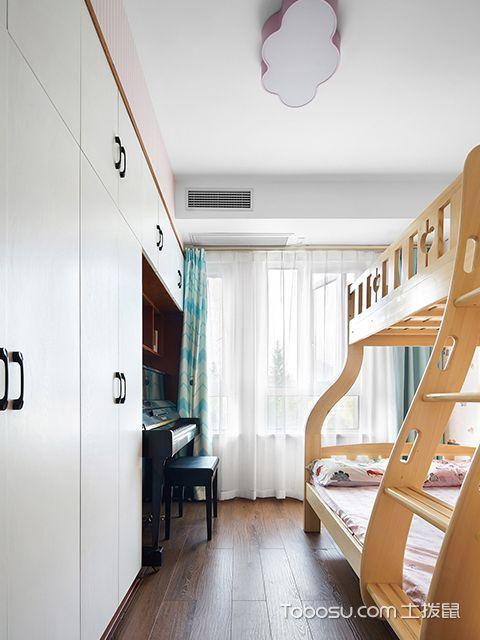 北欧风格四室两厅装修案例—儿童房