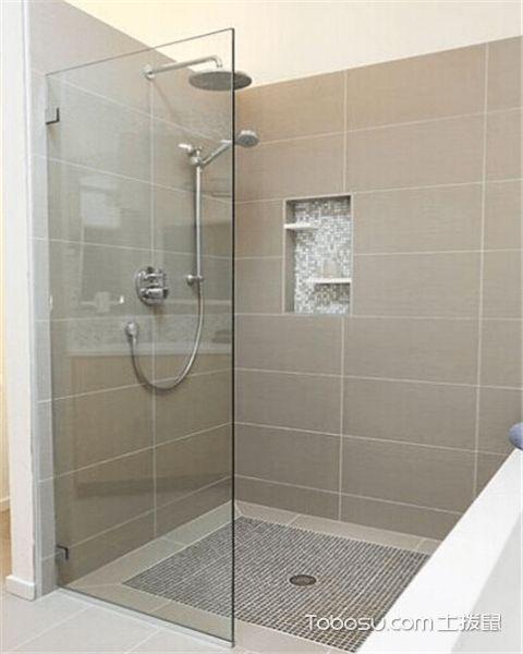 小户型如何设计淋浴房之做好防水设施