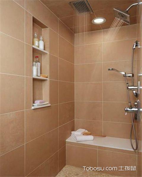 小户型如何设计淋浴房之花洒的种类