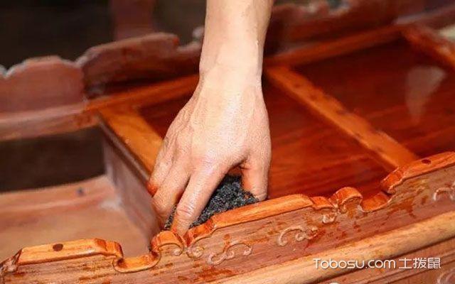 红木家具打蜡方法是什么