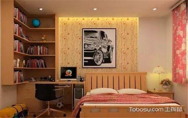 卧室角落空间怎么利用之内嵌式开放柜