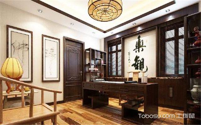 中式书房怎么装修之家具位置