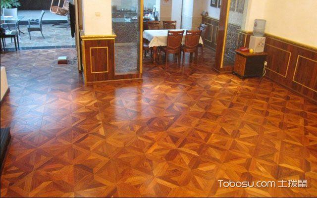 6款不同风格的拼花地板装修效果图