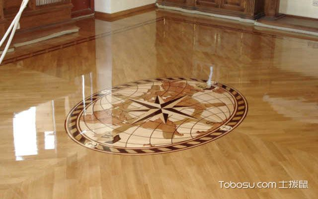拼花地板装修效果图