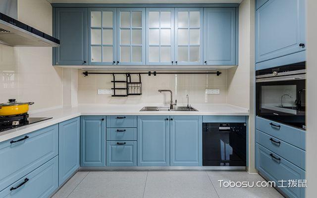 简美风格装修案例—厨房