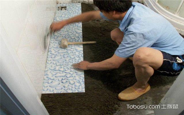 毛坯房装修注意事项之贴砖瓷砖