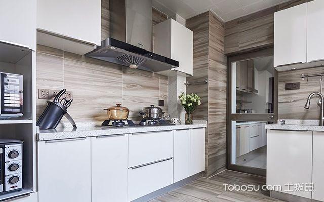 四室两厅简约装修案例—厨房