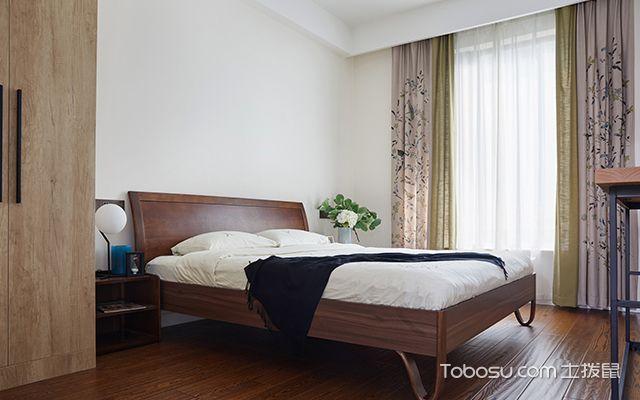 四室两厅简约装修案例—次卧