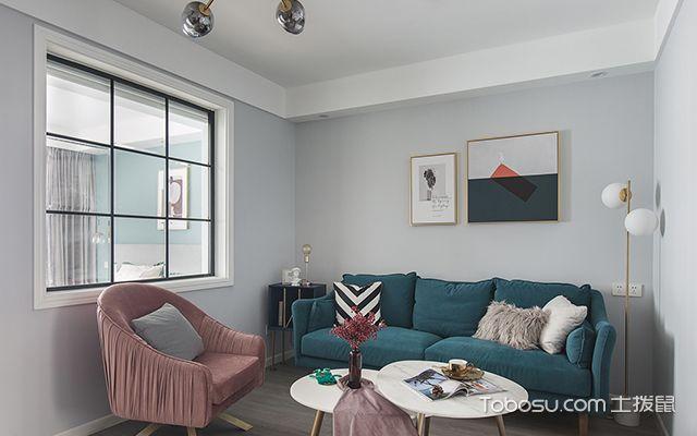北欧风格装修案例—客厅