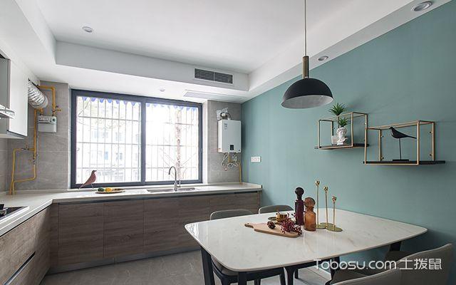 北欧风格装修案例—厨餐厅