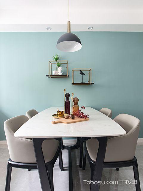 北欧风格装修案例—餐厅