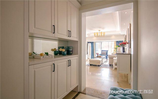 140平美式风格四居室装修案例