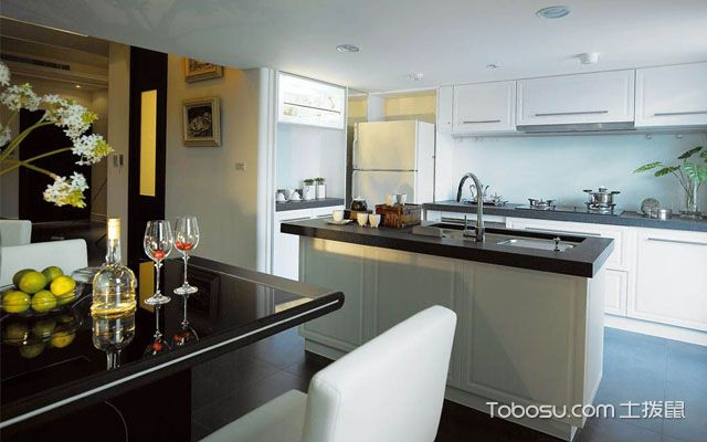 西式厨房装修设计要点总结