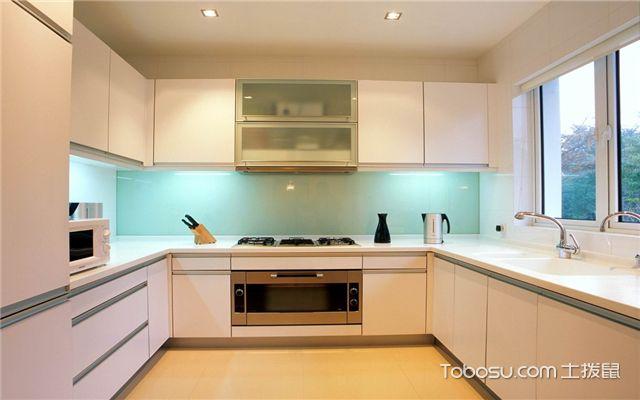 厨房墙面装修效果图之美观和谐