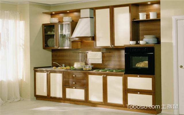 厨房墙面装修效果图之典雅大方