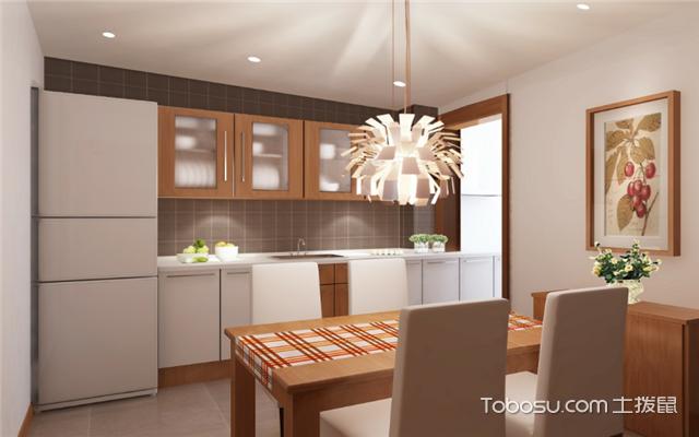 厨房墙面装修效果图之温馨雅致