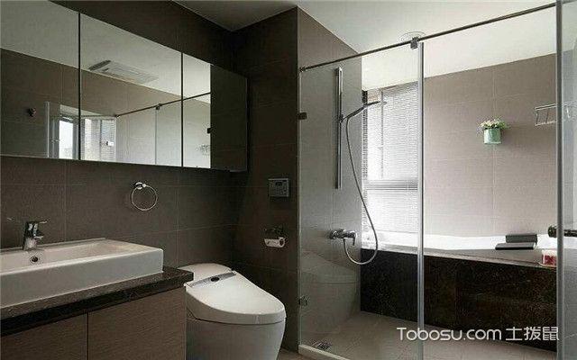 卫生间装修误区之玻璃更适合做干湿分离