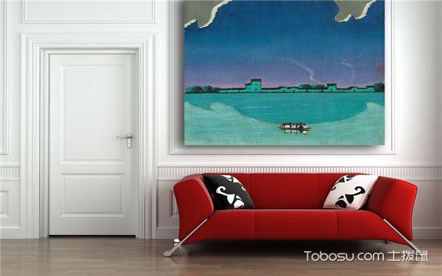 客厅背景墙怎么装才好看之装饰画背景墙