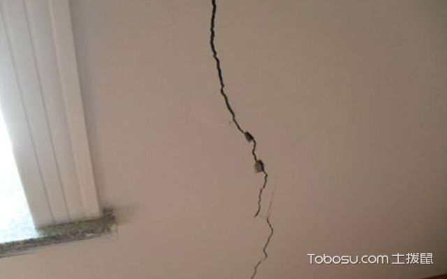 墙面开裂的原因—案例3