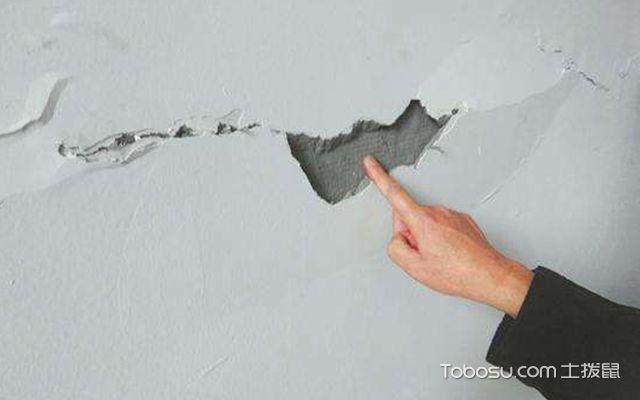墙面开裂的原因—案例4