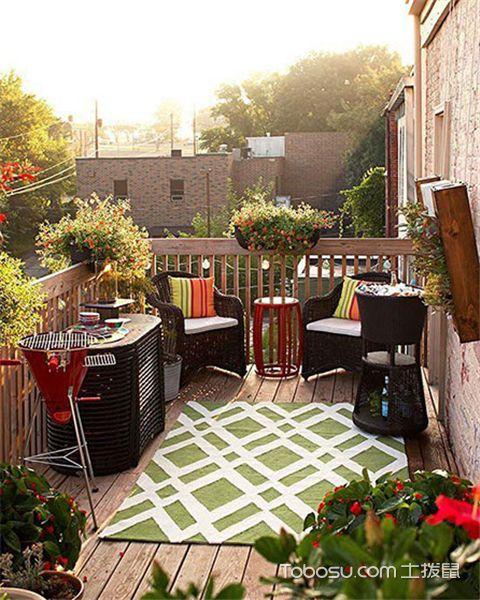 设计阳台花园有哪些原则之美观性