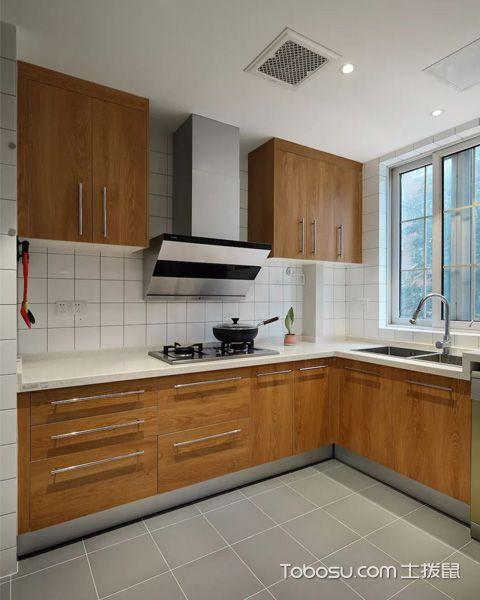 100平米三居室北欧极简风格装修案例
