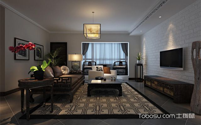中式客厅怎么装修