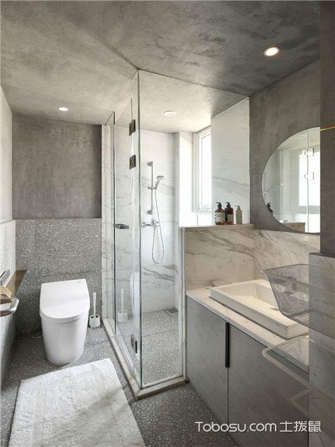干湿分离的卫生间怎么设计才合理-把功能区规划好