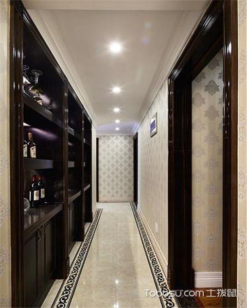 家庭走廊如何布置之地面设计