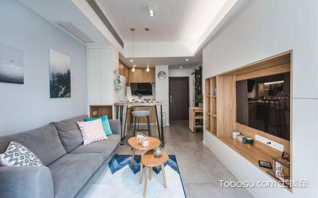 40平米两室一厅装修案例介绍