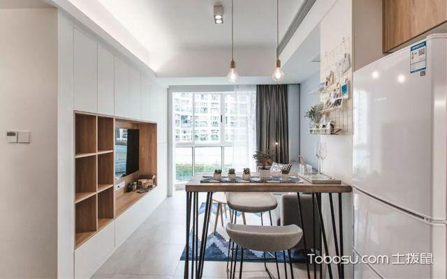 40平米两室一厅装修设计图片赏析
