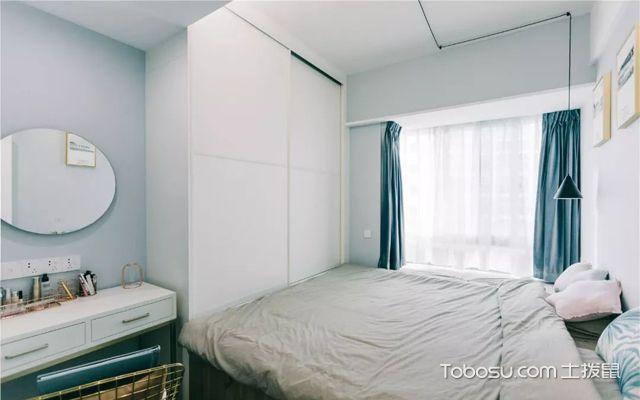 40平米两室一厅装修案例图片