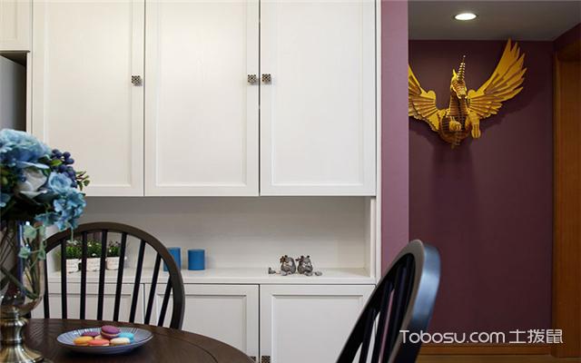 餐边柜有哪些款式之整墙式