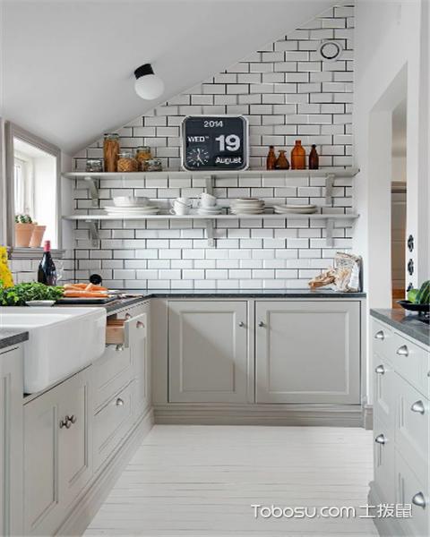 6平米厨房装修预算是多少之橱柜设计