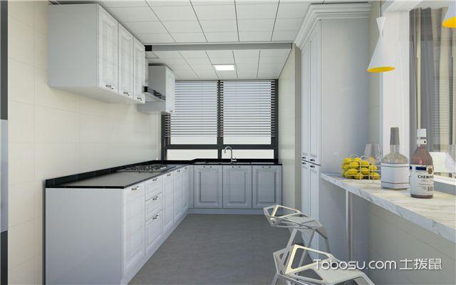 6平米厨房装修预算是多少之墙面设计