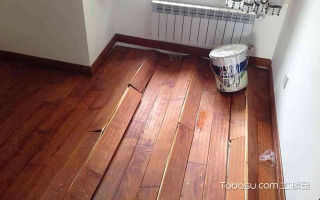 木地板起鼓怎么办—案例1
