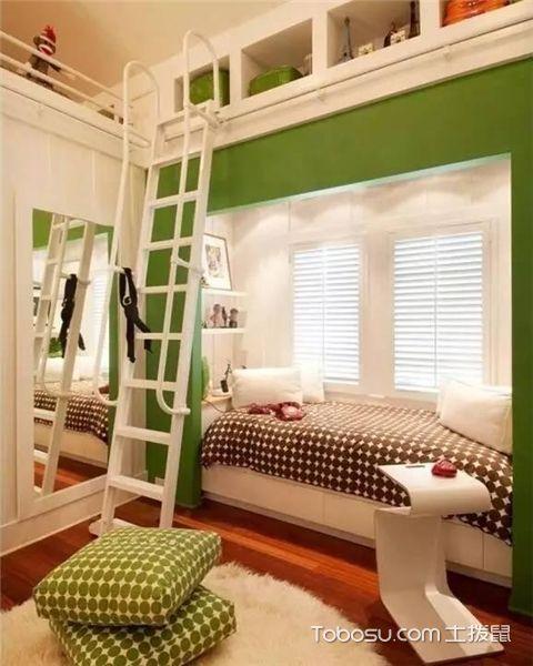 5平米儿童房装修效果图之清爽自然