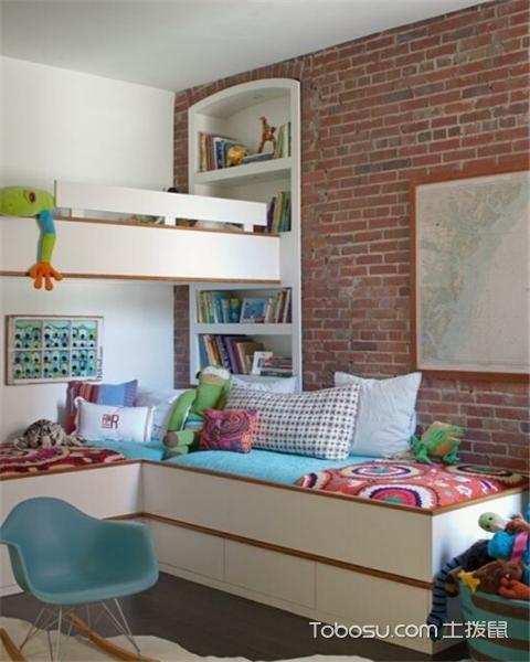 5平米儿童房装修效果图之实用性强