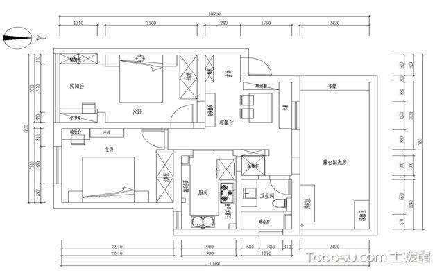 【70平米小户型装修】70平米小户型装修风格_案例_预算_图片