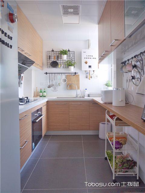 70平米小户型装修案例-厨房图片
