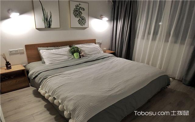 70平米小户型装修案例-卧室图片