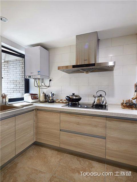 小复式装修样板间的厨房