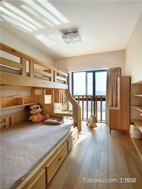 小复式装修样板间的儿童房