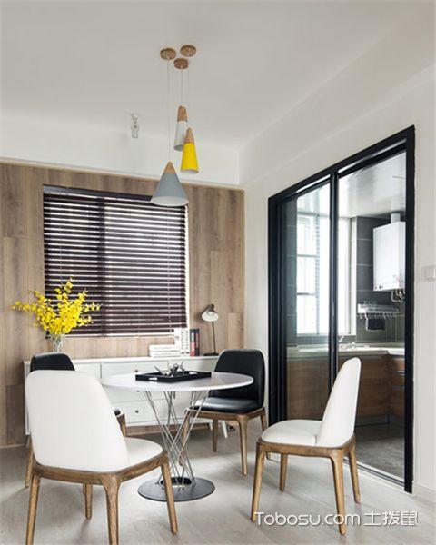 家庭餐厅如何进行装修之家具简单大方