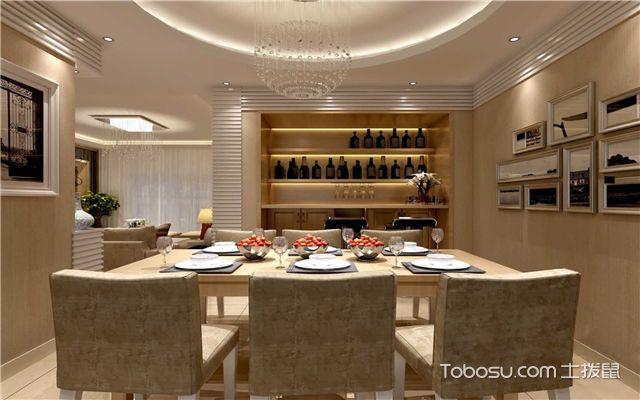 家庭餐厅如何进行装修之注重灯具设计