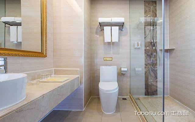 淋浴间用浴帘还是玻璃隔断—案例3