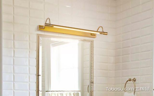 卫生间镜前灯安装方法介绍