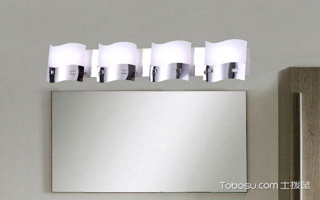 怎么安装卫生间镜前灯
