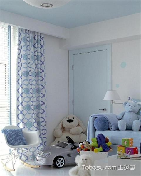 儿童房窗户有哪些款式之窗帘厚度