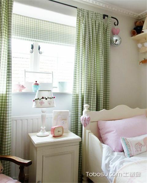 儿童房窗户有哪些款式之窗帘尺寸